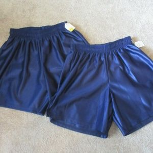 New lot of 2 AMERICAN brand Blue Youth Large Nylon